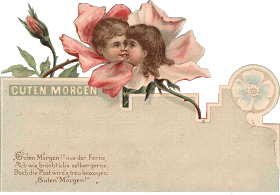 Zibi Vintage Scrap Kwiaty We Wlosach Potargal Wiatr Vintage Postcards Vintage Vintage Printables