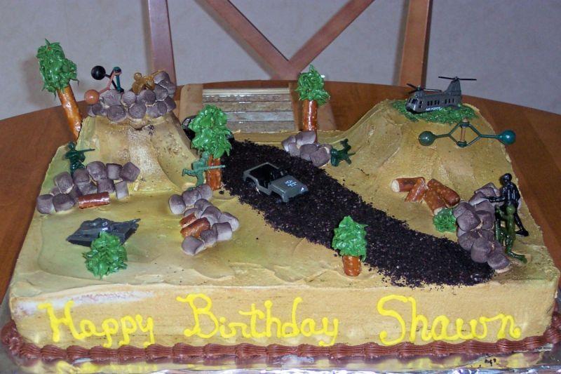 Army Cakes Military Birthday Cakes Army Fort Birthday Cake