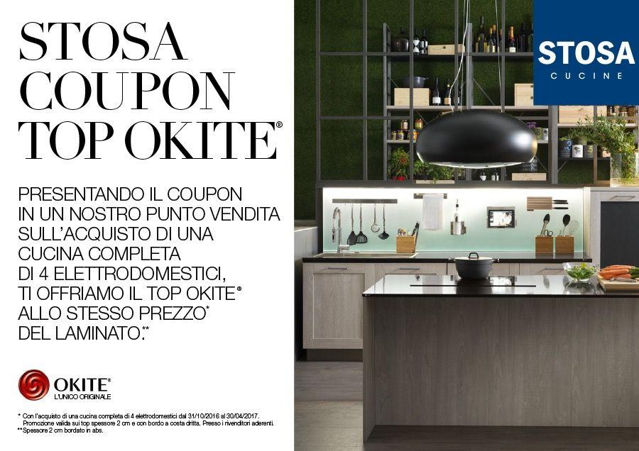 PROMOZIONE STOSA AL TOP CON OKITE® - Stosa Cucine | arredamento ...