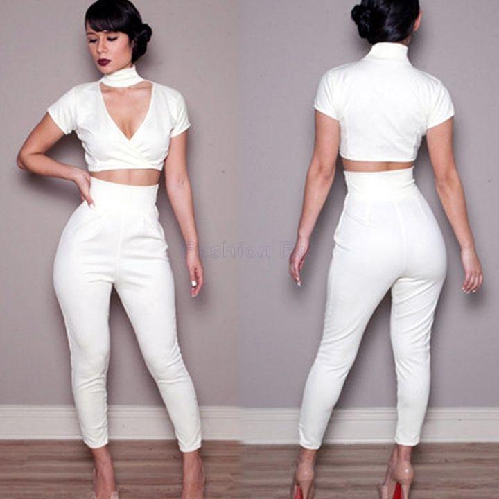 White Trouser Pants Women | Gpant