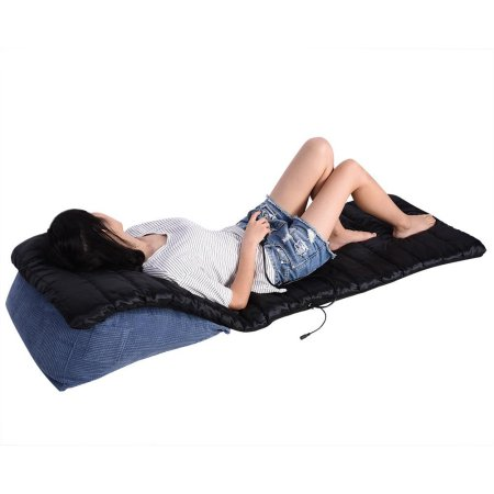 Infrared Massage Chair Heated Back Seat Double Sided Massager Cushion Mattress Vibrating With Images Massage Chair