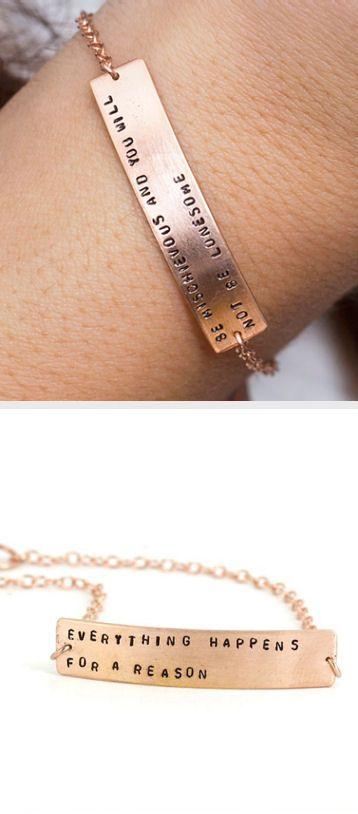 customized fortune cookie bracelet