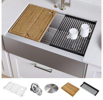 Kraus Kwf410 30 In 2020 Single Bowl Kitchen Sink Stainless