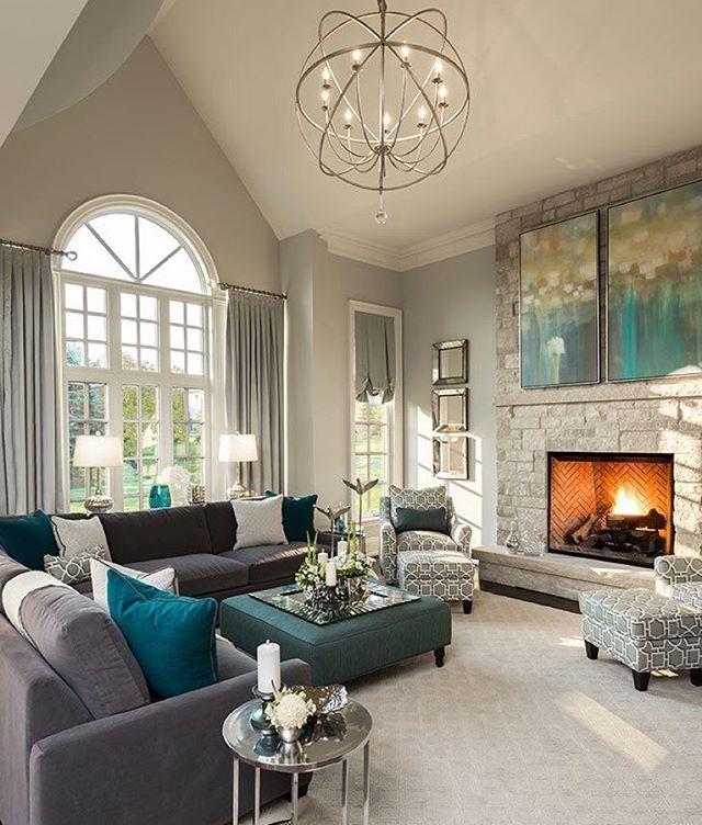 Paredes grises pintadas interiores decoraciones de casa tecnicas para pintar also pin by chandni patel on home in pinterest salones rh co