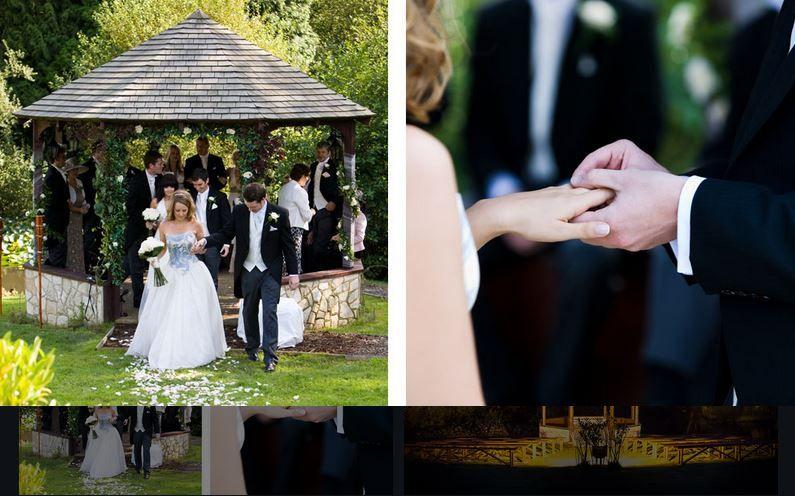 Lythe Hill Gazebo Outdoor Wedding Outside Venues Surrey