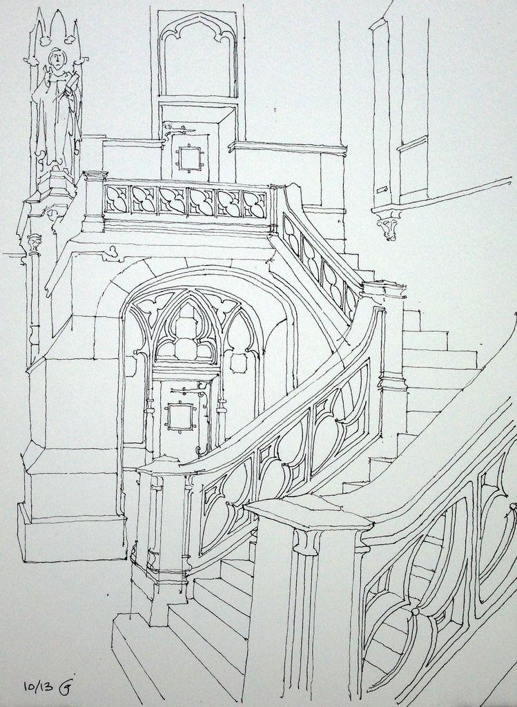 Churchyard Stair
