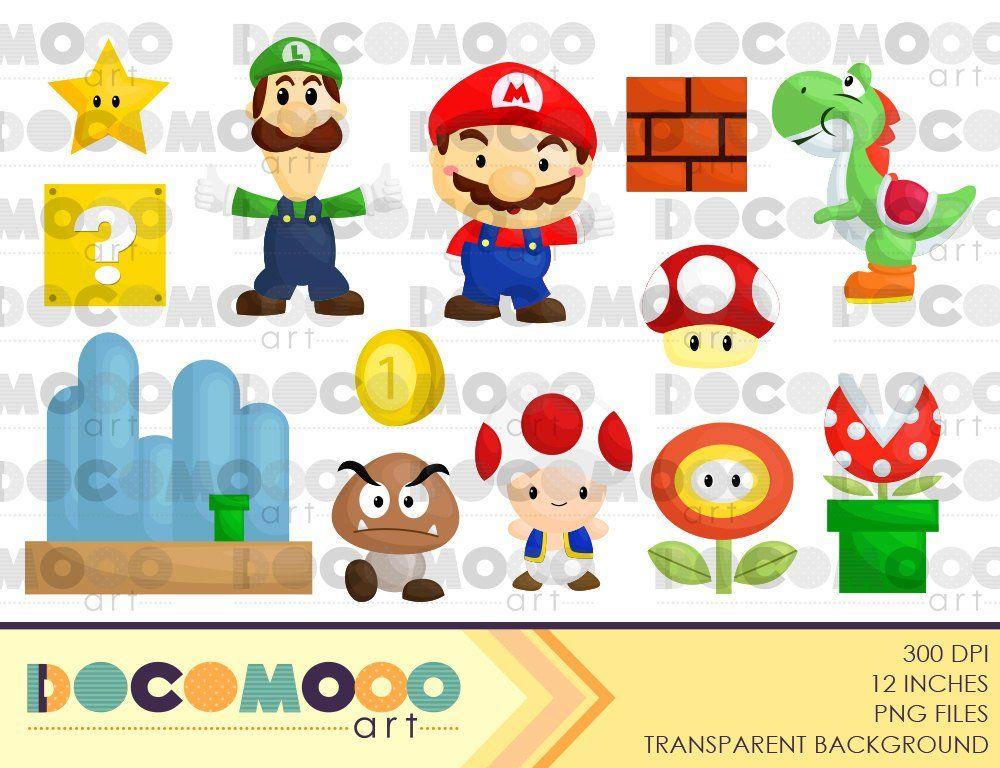 Plumber Clipart, Mario Clip Art, Luigi Png, Mushroom