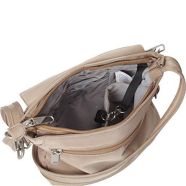 65a639d396 Travelon Anti-Theft Classic Mini Shoulder Bag - Exclusive Colors