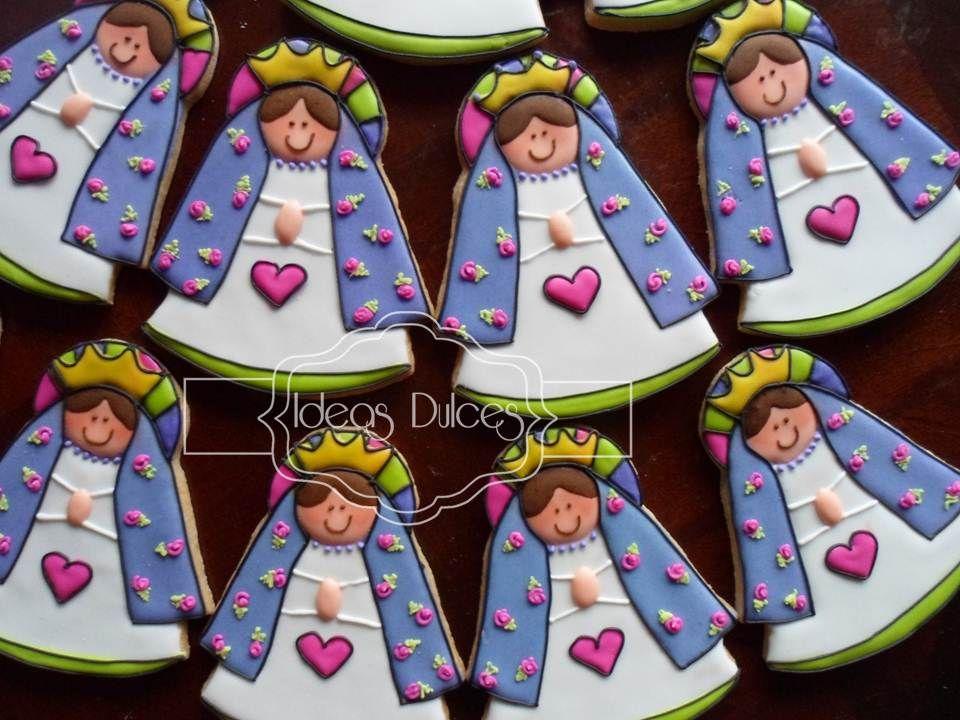 Virgencitas Plis para Primera Comunión encargadas por Vicky
