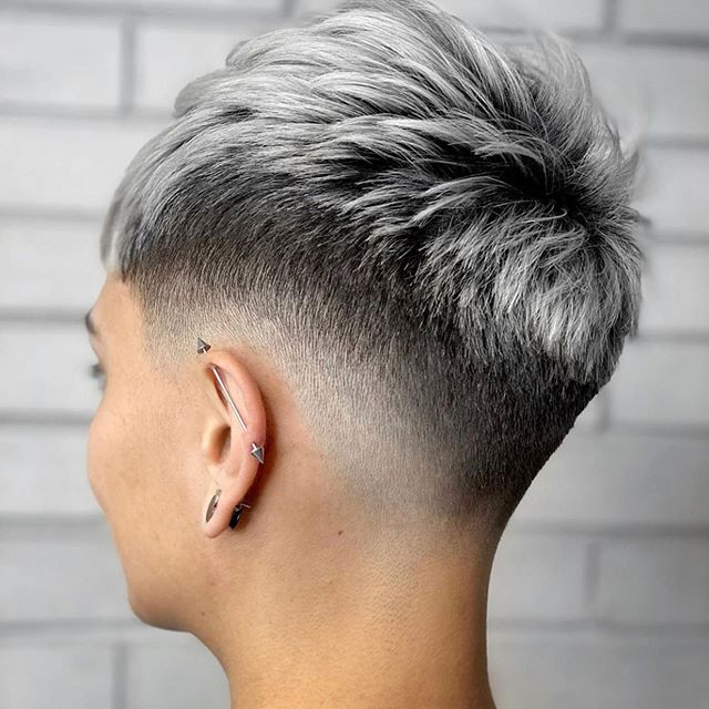 54 Stylish Short Hairstyles Undercut Ladies Ideas
