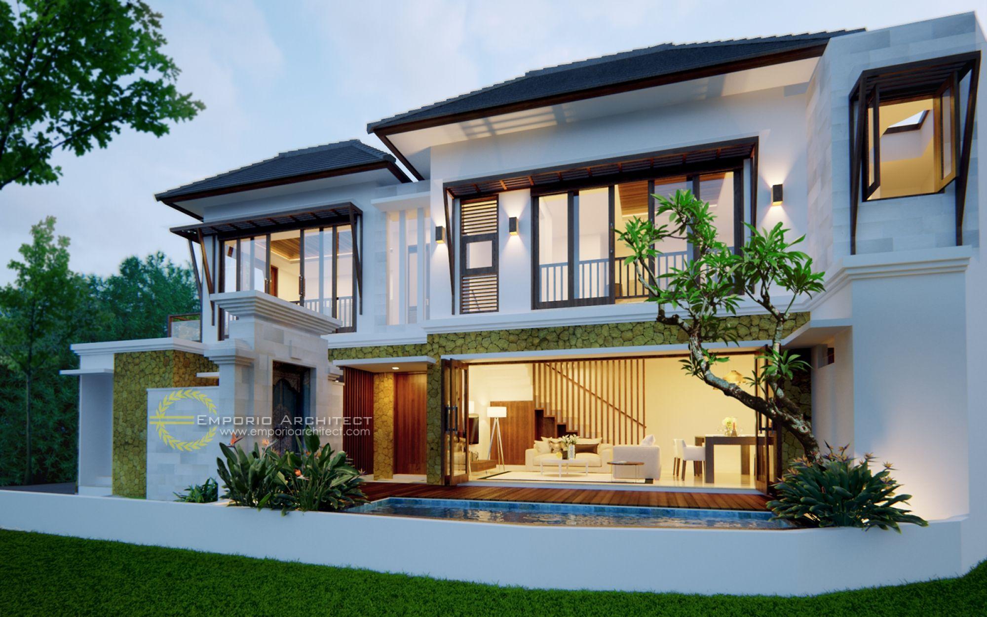 Fantastisch Mitte Des Jahrhunderts Moderne Häuser Jasa Arsitek Desain Villa Bapak Agung  Kurnia Ubud Bali Jasa Arsitek
