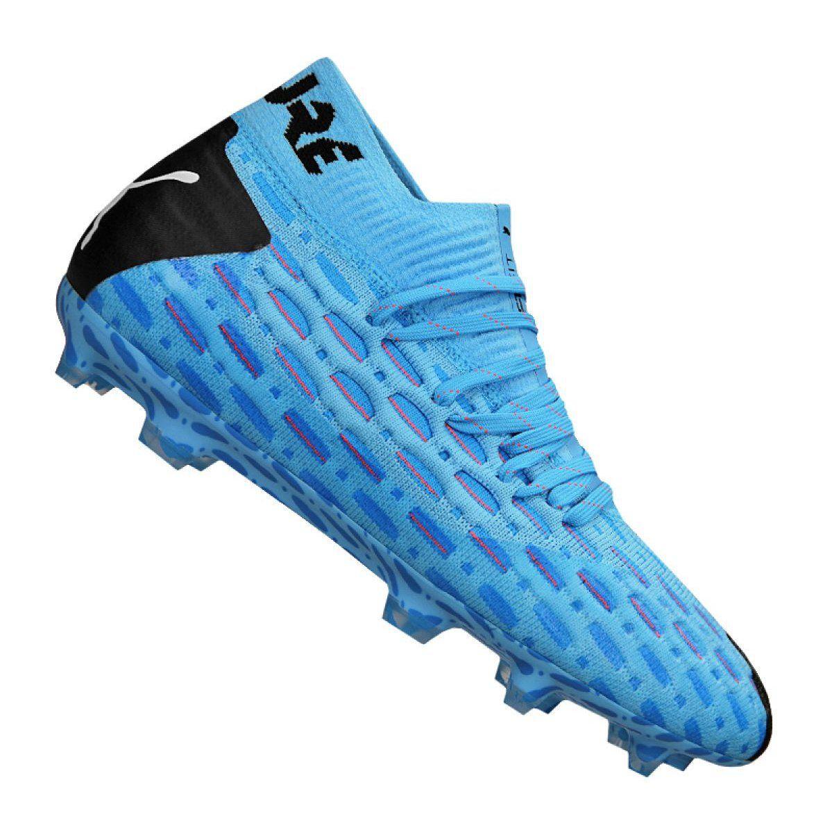 Buty Pilkarskie Puma Future 5 1 Netfit Fg Ag Jr 105805 01 Niebieskie Niebieskie Football Boots Puma Junior Shoes