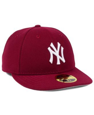 efe7d705bbe New Era New York Yankees Low Profile C-dub 59FIFTY Cap - Red 7 5 8 ...