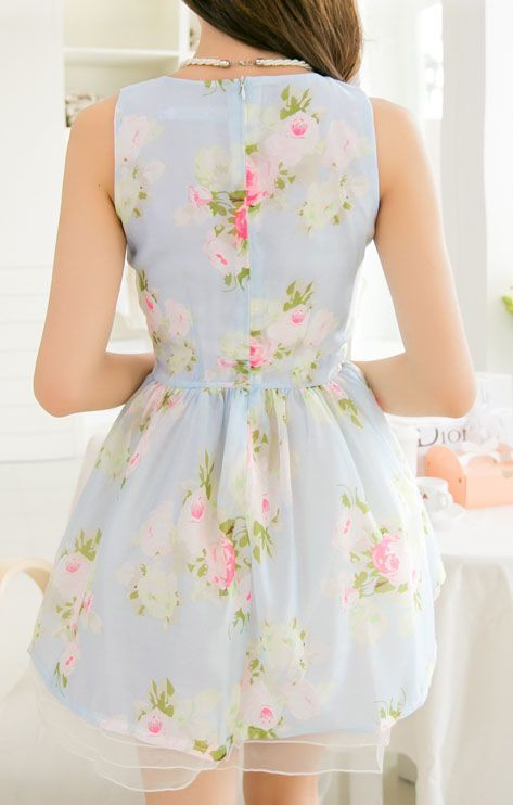 Rosy I Love This Pastel Dress
