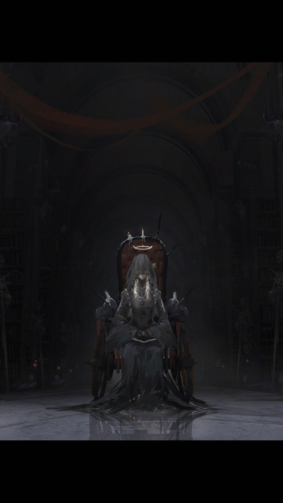 Angel Bloodborne Artwork Dark Wallpaper