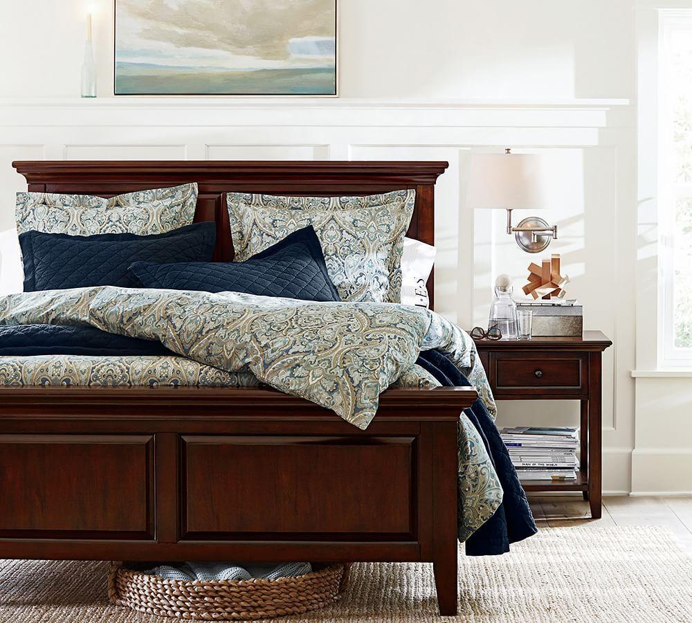 Paisley Bedding Master Bedroom