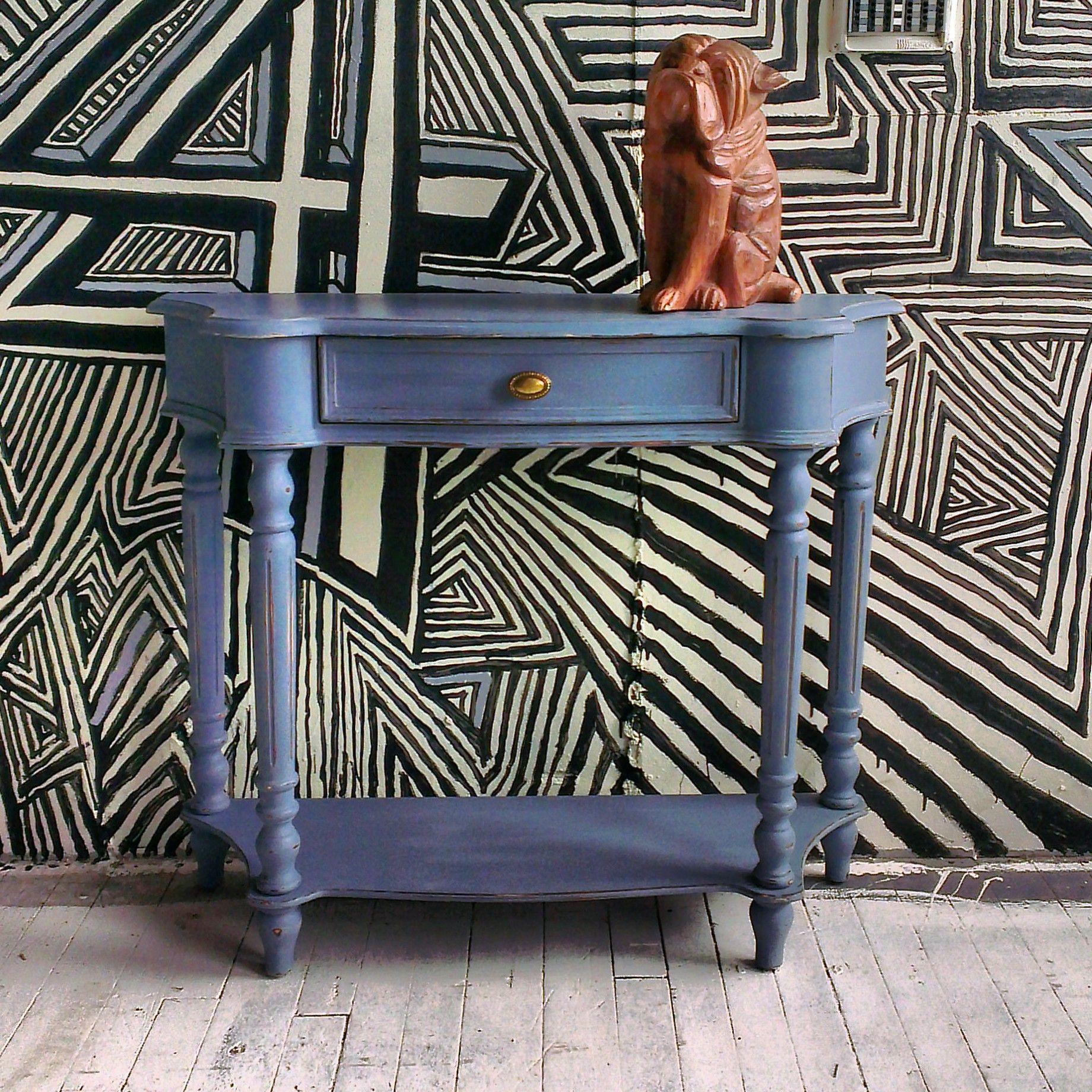 console sydney bulldog donavan rehauss la peinture la craie cr ations mixxy design. Black Bedroom Furniture Sets. Home Design Ideas
