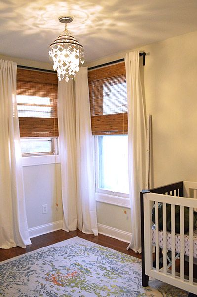 I Like The Window Treatments The Two Different Sized Windows Have
