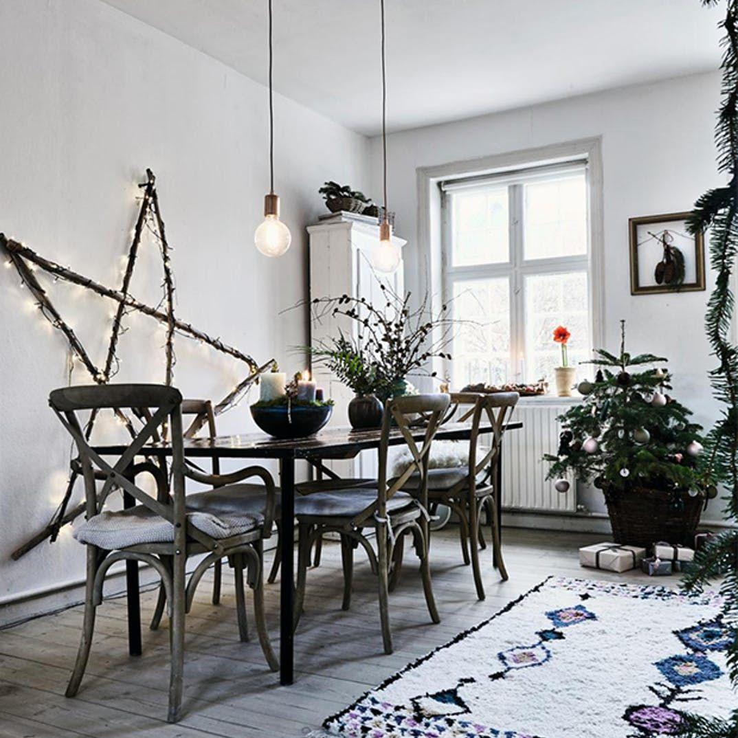 Boliginspiration: Jul i naturlige rammer | Kære hjem - idéer til din bolig og have