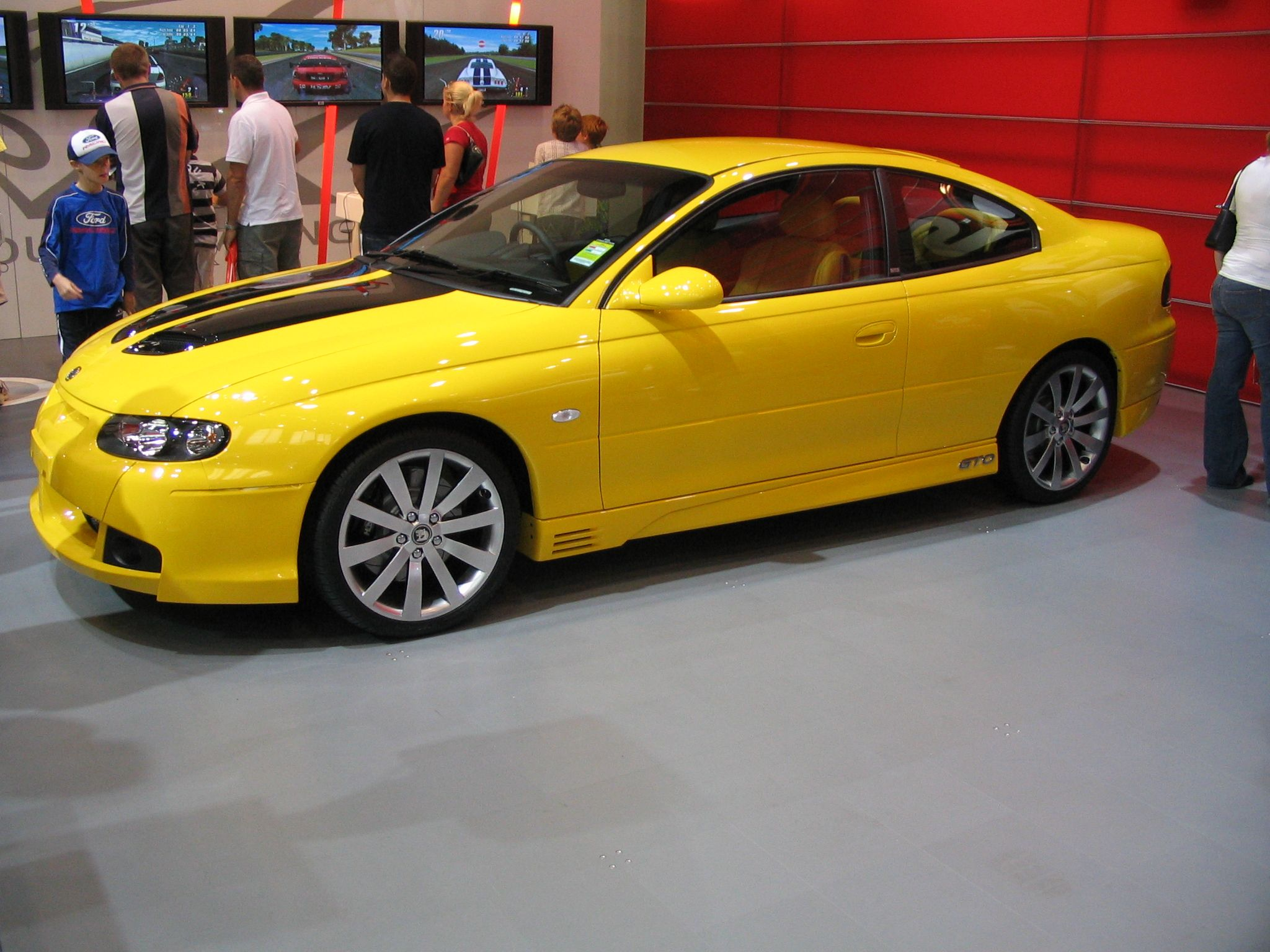 Holden Monaro 2006 Sold In Usa As A Pontiac Gto