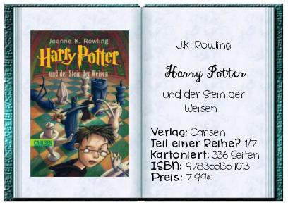 Harry Potter Und Der Stein Der Weisen Von J K Rowling Stein Der Weisen Neue Wege Harry Potter