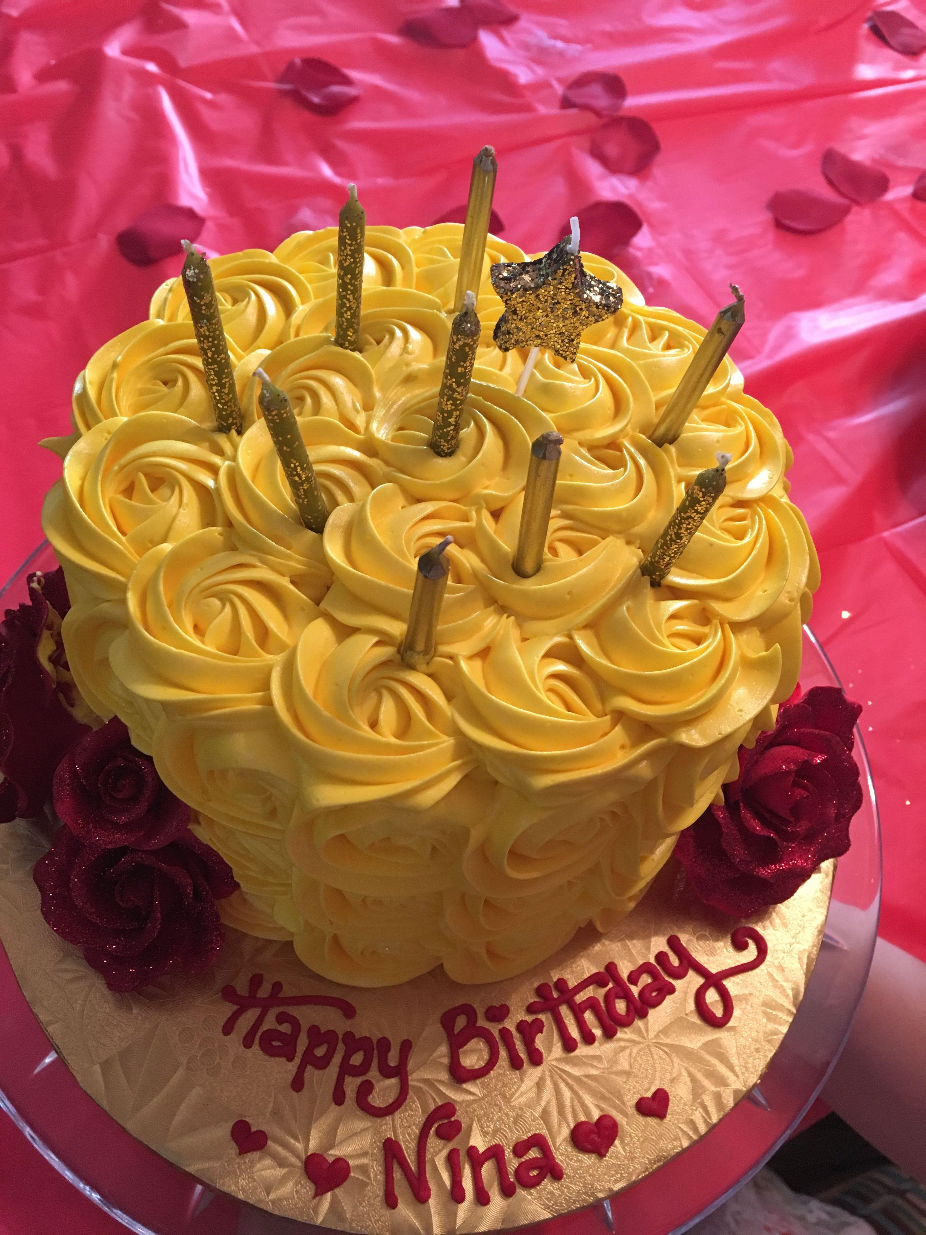 Belle birthday cake Belle birthday cake, Birthday
