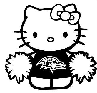 New Custom Screen Printed T Shirt Hello Kitty Cheerleader Baltim Hello Kitty Screen Printing Kitty