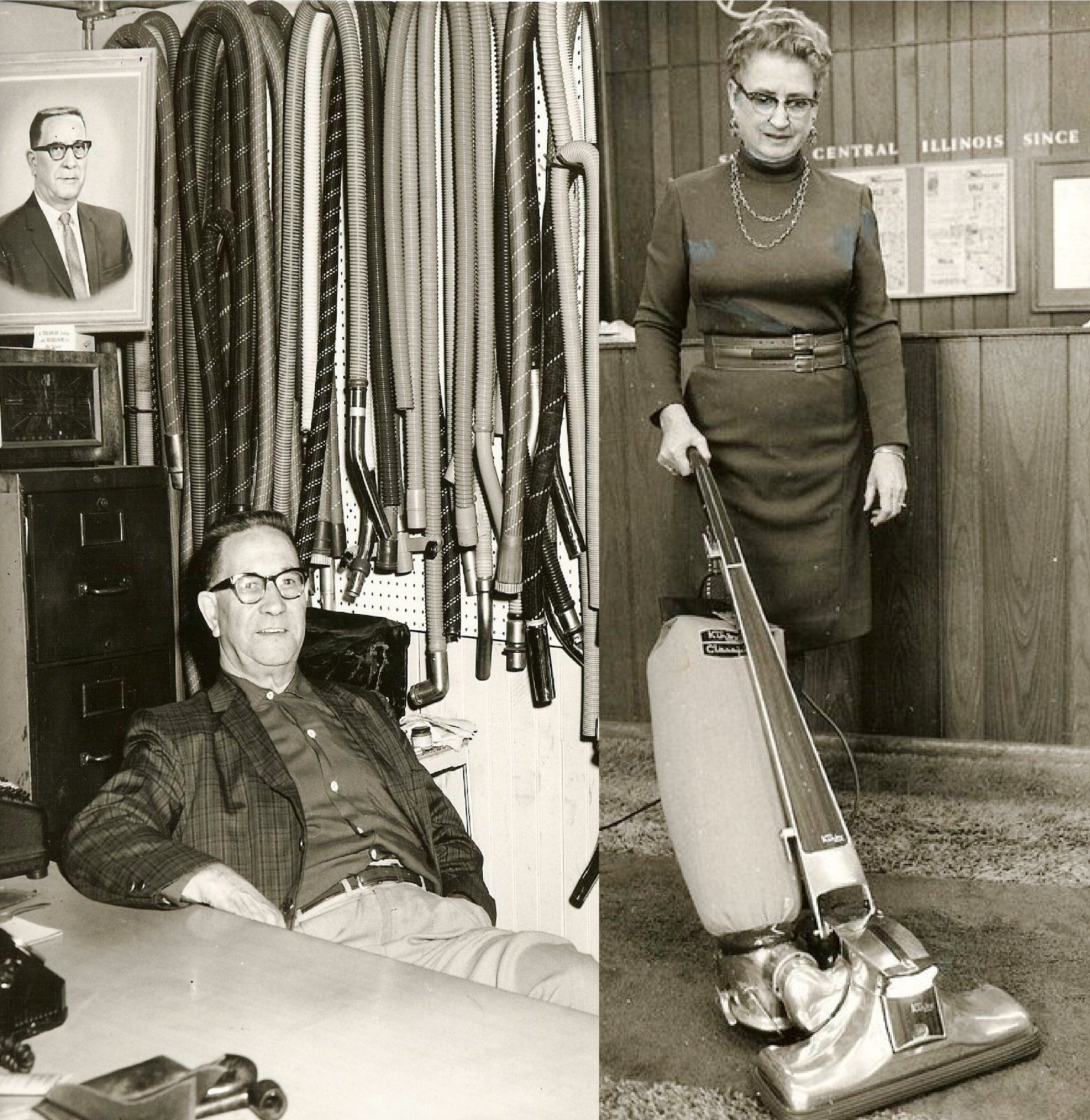 Ben And Gladys Nybakke Moved To Bloomington Illinois In 1932 And Started A Vacuum Business Bloomington Illinois Bloomington Vacuums