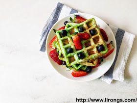Lirong | A singapore food and lifestyle blog: Recipe: Vietnamese Pandan Waffles