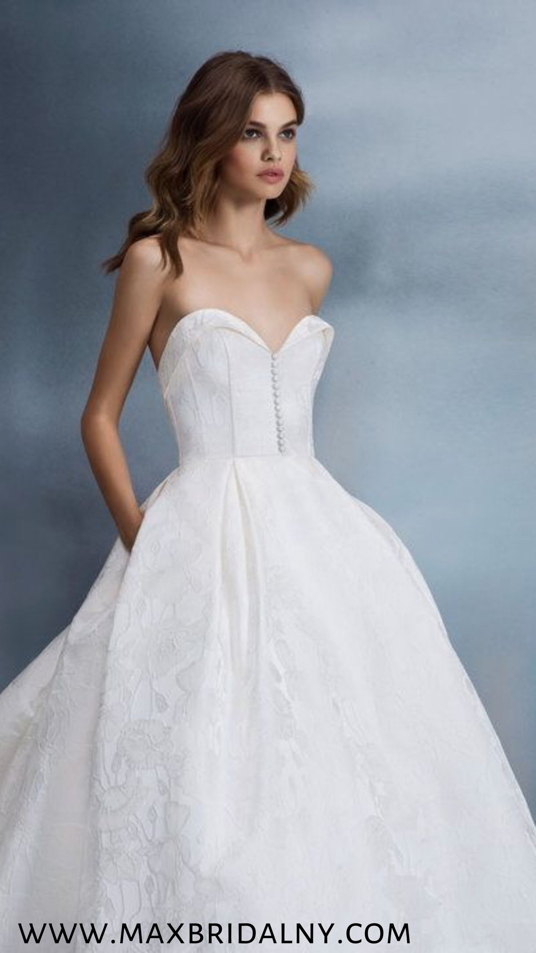 4bd1570f05 Pin by Max Bridal NY on Allison Webb in 2019