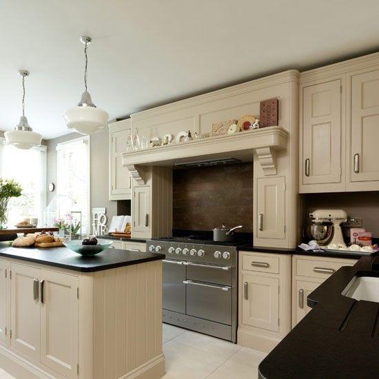 Traditional Kitchen Decorating Ideas Beige Kitchen Beige