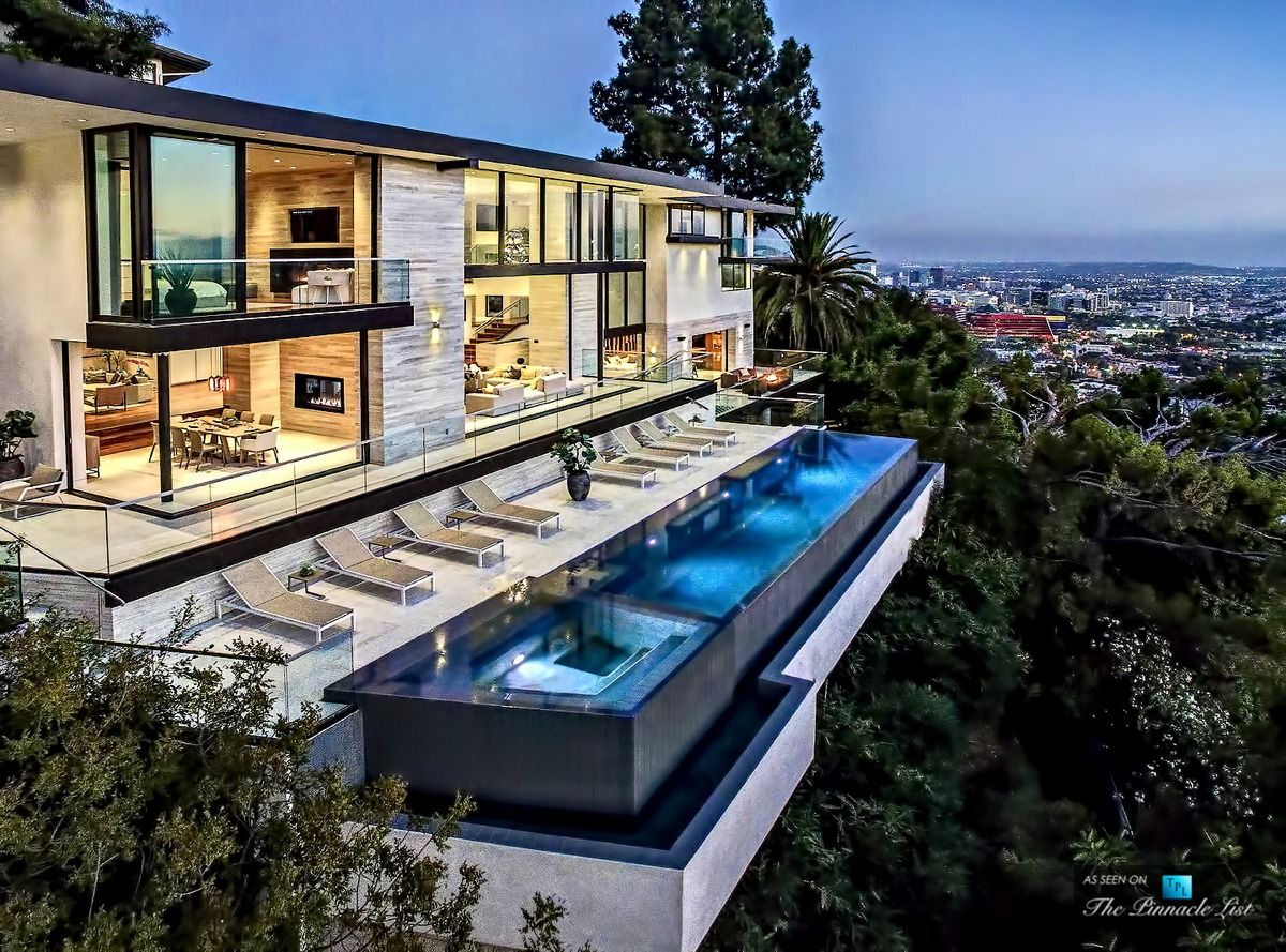 Look - Hills hollywood stylish modern home video