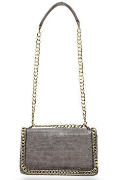 Eva Mock Croc Chain Detail Cross Body. Get unbelievable discounts up to 60% Off at Boohoo using Coupon & Promo Codes
