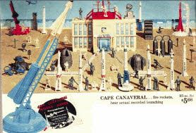 Cape Canaveral Set  Price: $5.66  Description Build your own Cape Canaveral with launchers, rockets, observation and control tower, satellites, scientists, astronauts and everything else needed to build a space center.