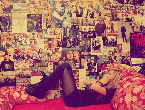Fill My Wall Full Of Posters Hipster Room Emo Bedroom Dream Room