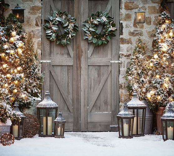 Park Hill Lantern Outdoor Christmas Decorations Outdoor