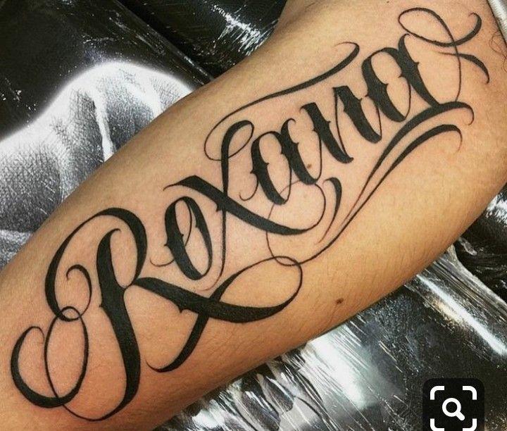 Pin De Jose Cruz En Frase O Nombre Fuentes De Letras Para Tatuaje Tatuajes De Nombres Disenos De Tatuaje De Nombres
