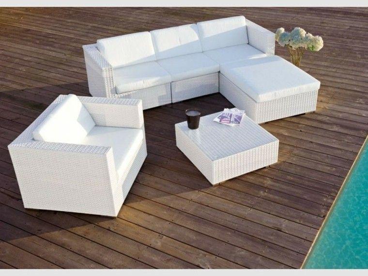 Mimbre Y Rattan Para Los Muebles De Jardin 100 Ideas Diseno De