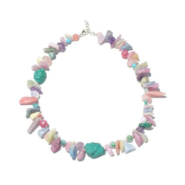 Space Candy Necklace by Space Mermaid ❤ liked on Polyvore featuring jewelry, necklaces, accessories, bracelets and fillers