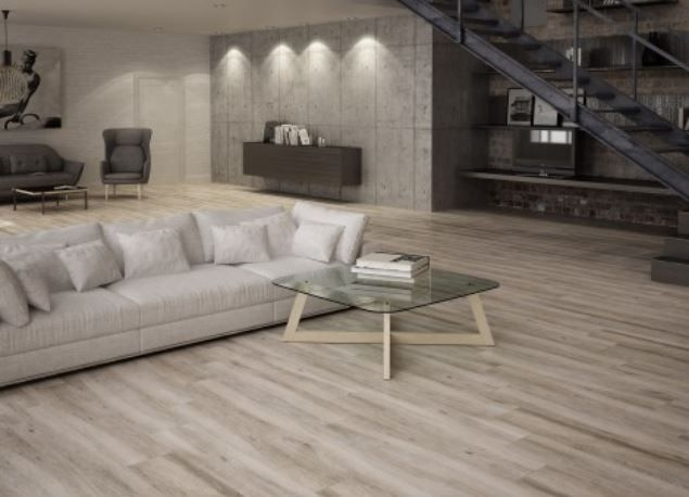 resultado de imagen de suelos porcelanicos imitacion madera gris - Suelos Porcelanicos