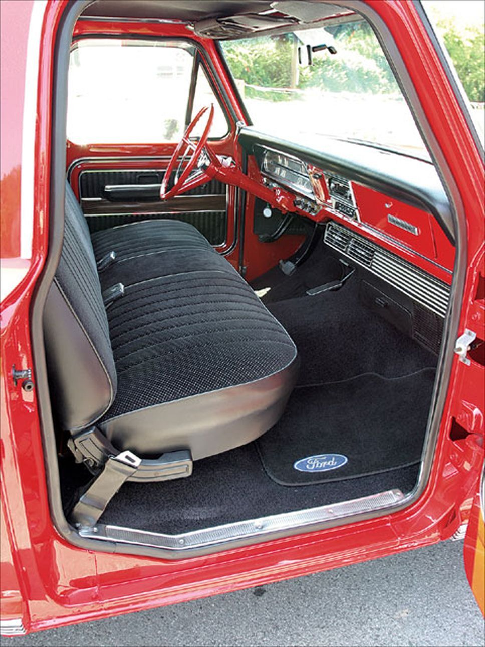 1969 Ford F100 Interior F Series Pickup Dream Build Ranger Xlt