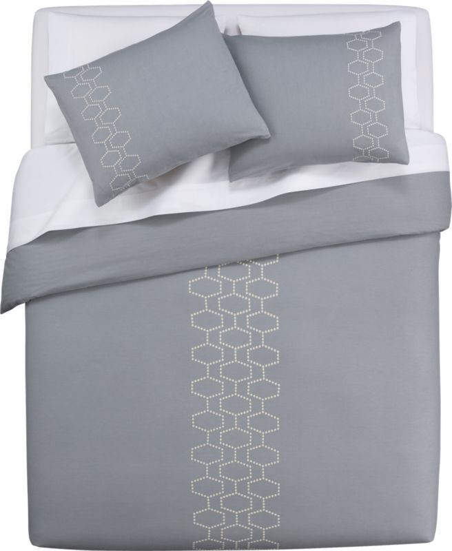 D Abeille Bed Linens In Bed Linens Cb2 Bed Duvet Covers