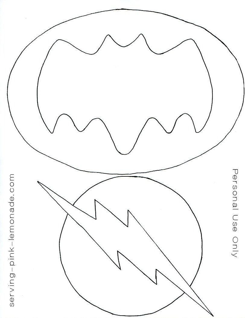 Serving Pink Lemonade Super Hero Party Free Templates Included