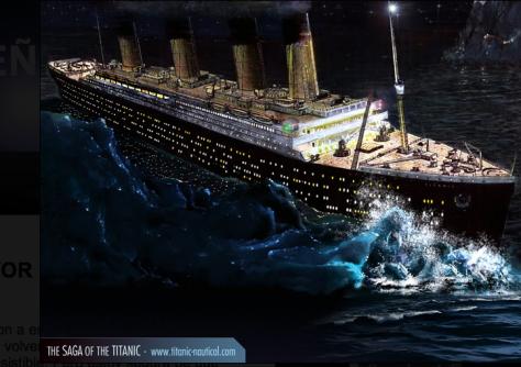 Amor Total Titánico Hundimiento Del Titanic Rms Titanic