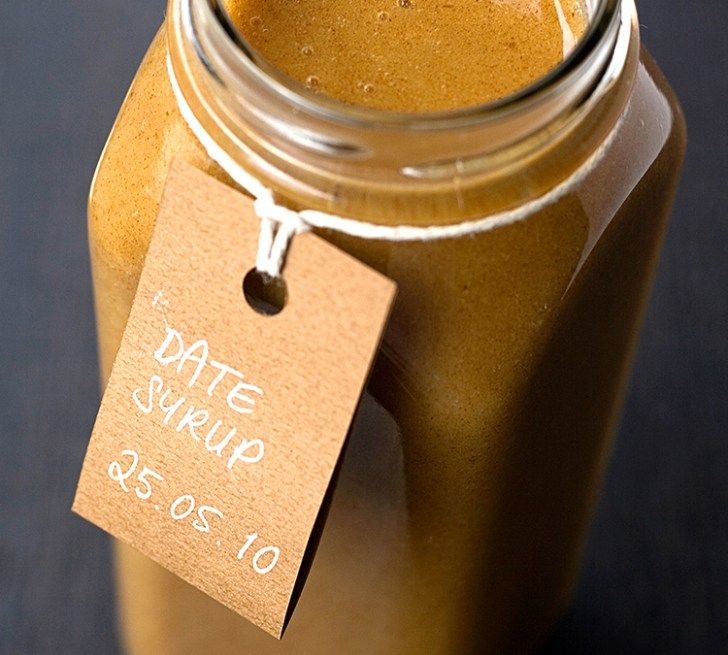 Homemade Raw Date Syrup