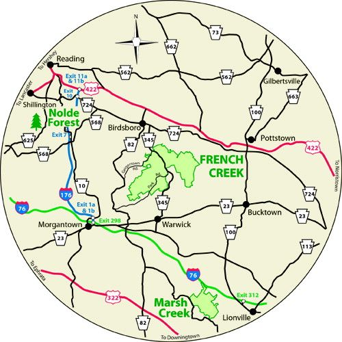 Pa Dcnr French Creek State Park State Parks Creek Field Trip