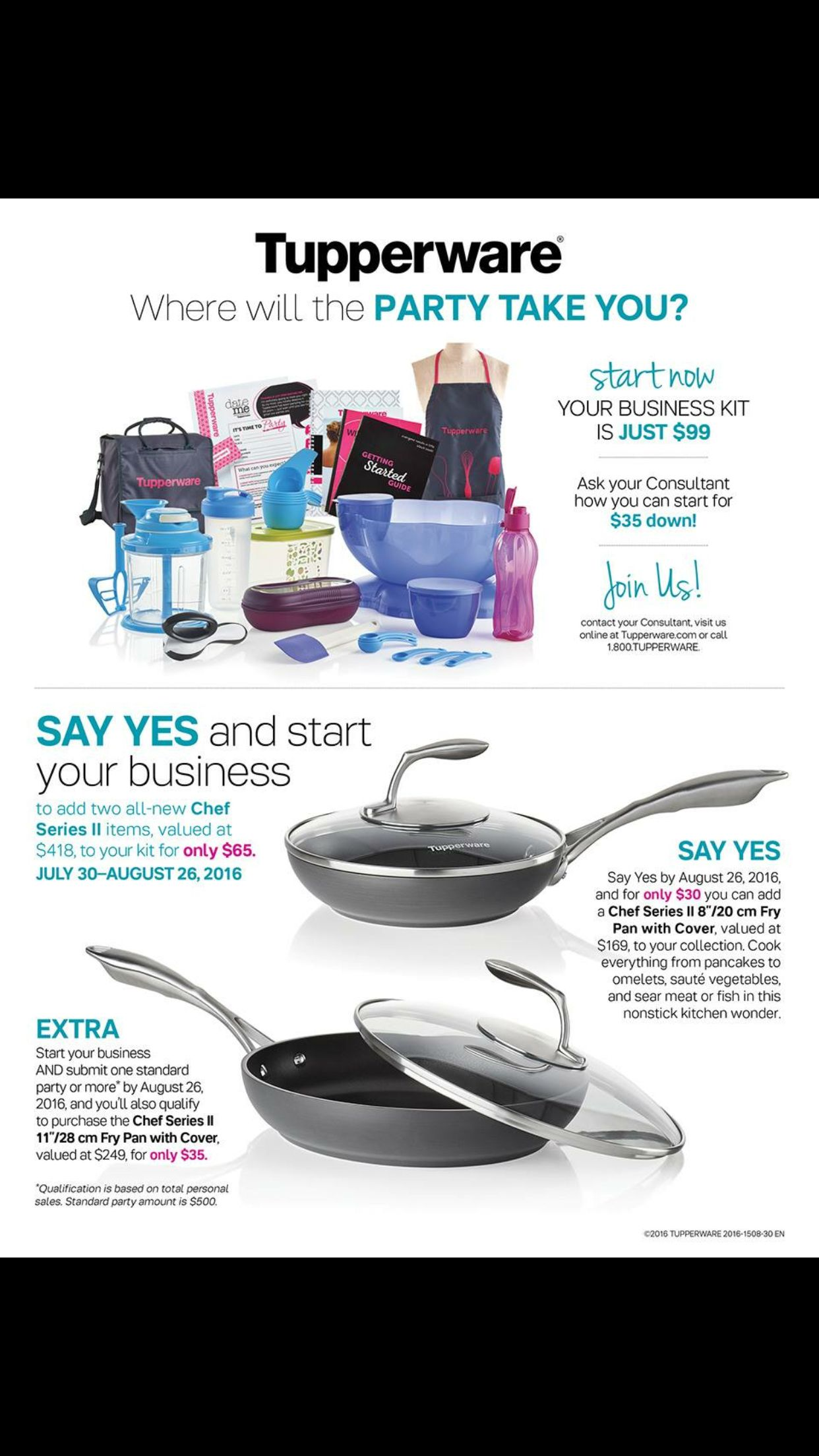 Omgosh if you have thought about joining tupperware