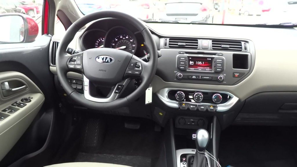 2015 Kia Rio Ex Fwd Sedan Kia Rio