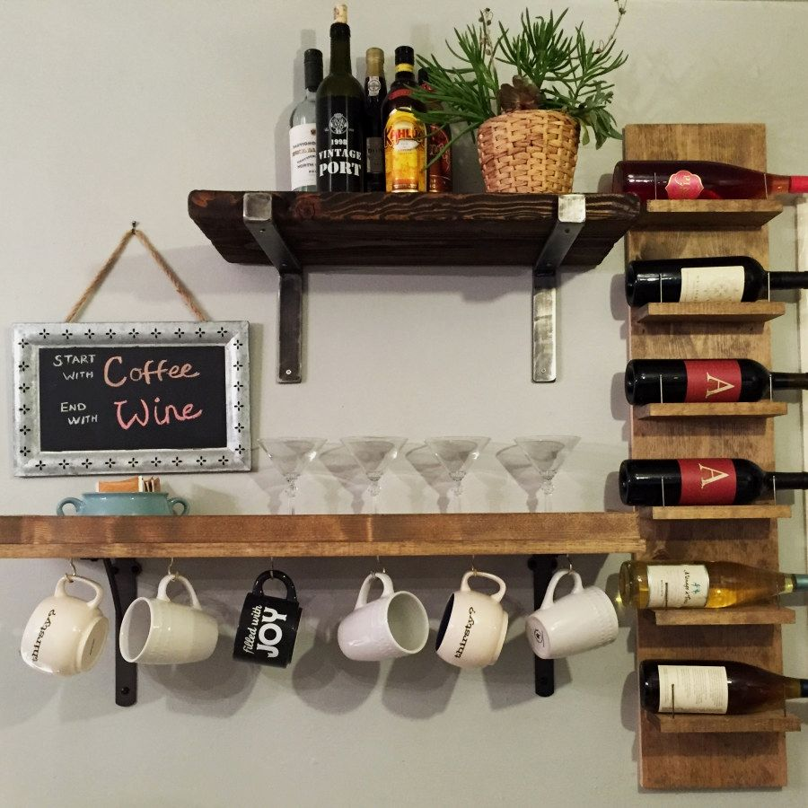 Industrial style shelving storage ideas with images