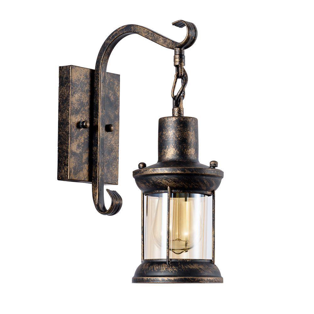 Applique industrielle métal couvercle en verre interieur applique murale ancienne applique rétro pour maison de champagne café loft cuisine salon et